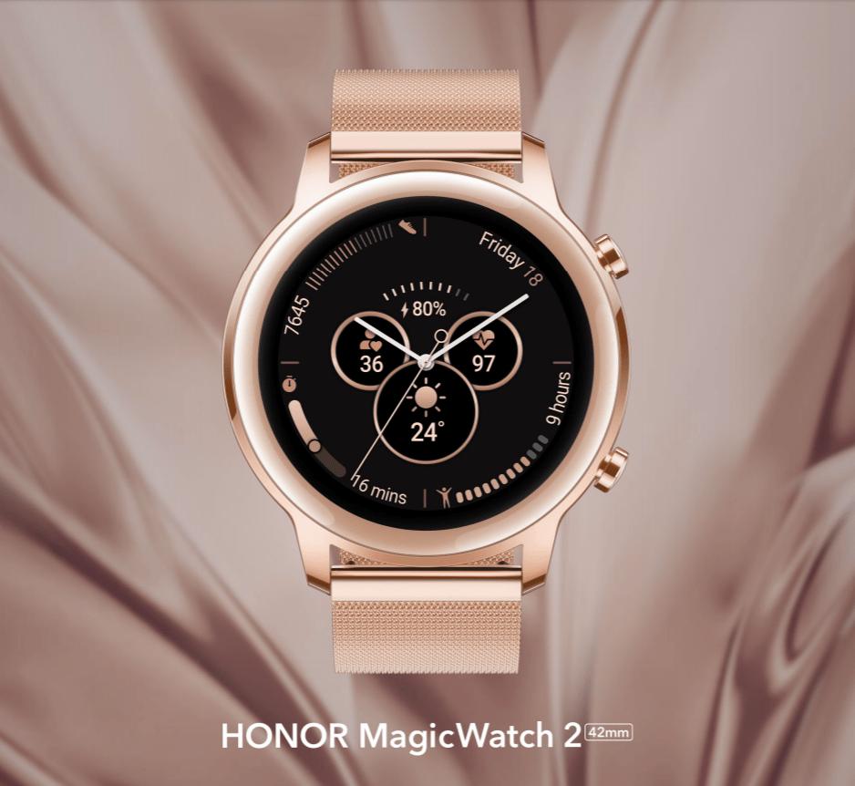 Montre connectée Honor MagicWatch 2 - 42mm