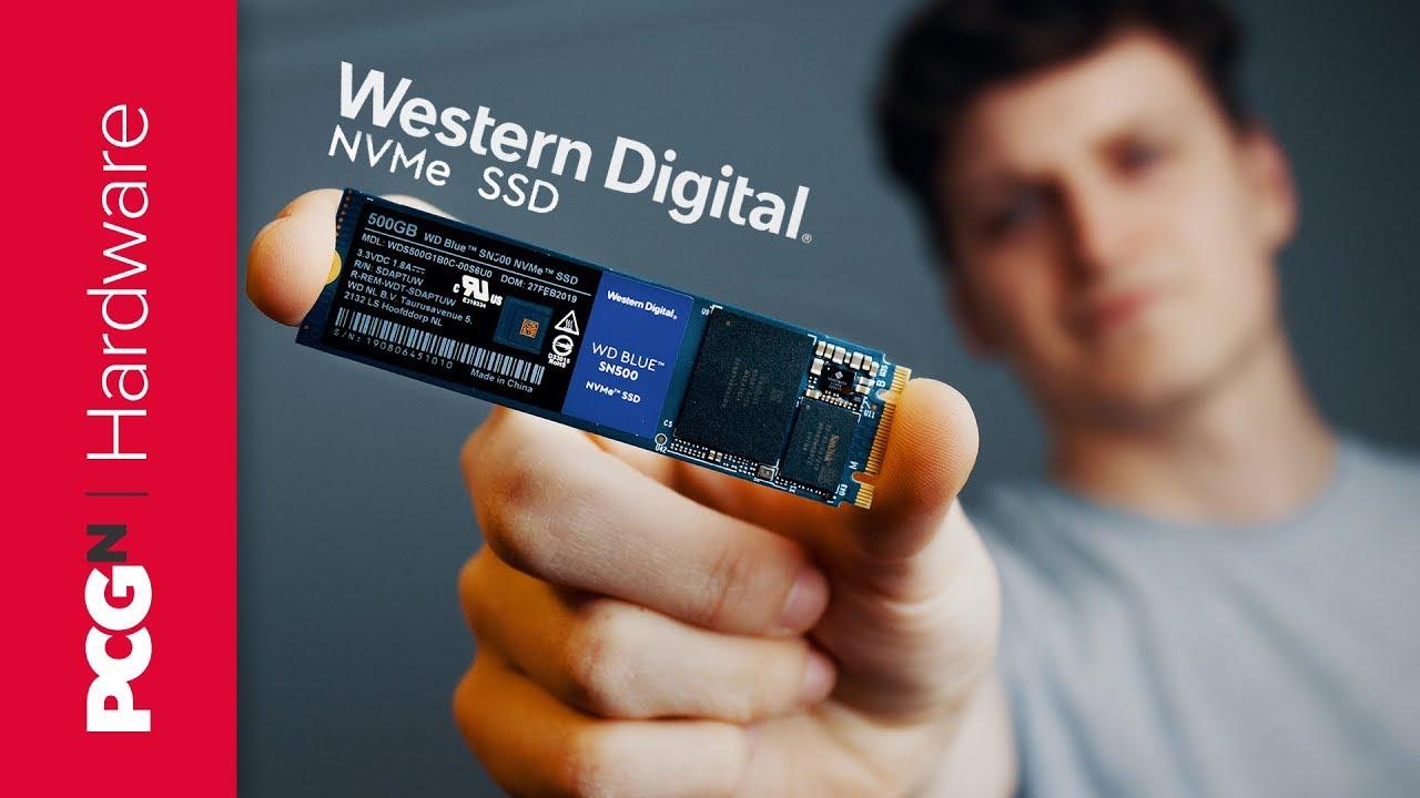 SSD Interne M.2 Western Digital Blue SN550 NVMe - 500Go